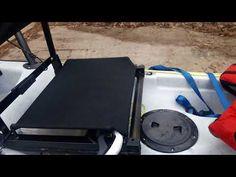 DIY kayak seat (without drilling into your kayak) - YouTube Kayak Seats, Boat Seats, Kayak Fishing, Fishing Boats, River Camp, Kayak Accessories, Stadium Seats, Outdoor Fun, Kayaking