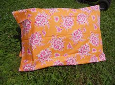 Pillow Case 1 pillow case  Pink Floral with by GreenMountainBoHo