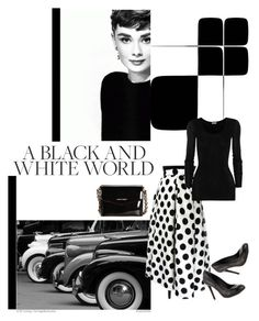 Audrey Hepburn by lanaebond on Polyvore featuring polyvore, moda, style, American Vintage, Columbia, Jessica Simpson and MANGO