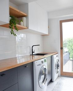 CUSTOM IS OUR SPECIALITY ... Another look at our recent laundry room project. Thanks to everyone for your lovely feedback, we're so pleased…