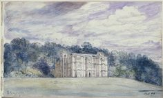 Englefield House, Berkshire, John Constable, 1832