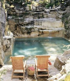 Natural Swimming Pools, Swimming Pools Backyard, Natural Pools, Limestone Quarry, Aqua Pools, Bloom Where You Are Planted, Dream Pools, Exterior, Cool Pools
