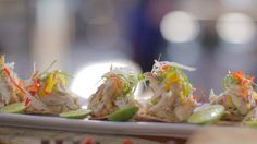 Peter Kuruvita Mexican Smoked trout tostada (tostadas de trucha ahumada) recipe : SBS Food