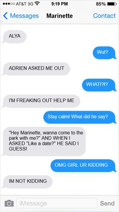 Adrien asked me out! 1