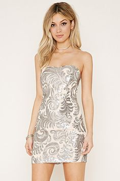 Sequin Bodycon Dress | Forever 21 - 2000153644