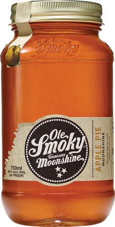 Ole Smoky Moonshine Apple Pie - Moonshine is as American as apple pie. So it only made sense to blend pure apple juice, ground cinnamon, and other spices with our whiskey to create Ole Smoky® Apple Pie Moonshine. This delicious combination of flavors can conjure up memories of warm apple pie on a cool summer evening and goes down just as easy.