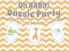 DIY Applique Onesie Templates for a Gender Neutral baby Shower - Etsy