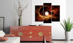 Canvas print - The centre of the Universe. Beatiful pictures by GLIX Banksy, Picture Frames, Gallery Wall, Canvas Prints, Pictures, Painting, Inspiration, Dark, Home Decor