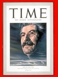 TIME Magazine Cover: Joseph Stalin, Man of the Year - Jan. 1943 - Joseph Stalin - Person of the Year - Russia - Communism - Joseph Stalin - World War II Time Life Magazine, Magazine Man, Magazine Covers, Joseph Stalin, Time News, Soviet Union, Soviet Army, World History, World War Two
