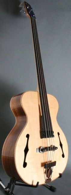 Wes Lambe electric acoustic Double Bass --- https://www.pinterest.com/lardyfatboy/