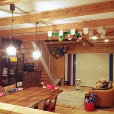 子供もすくすく育つ!ボルダリングやうんていがあるお家 | RoomClip mag | 暮らしとインテリアのwebマガジン