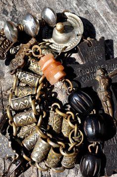ANTIQUE VICTORIAN BOOKCHAIN Book Chain by HallowedAdornments