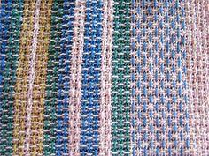 Tissage grain d'orge No 1 Friendship Bracelets, Rugs, Recherche Google, Montage, Towels, Images, Floral, Weaving Techniques, Weaving Patterns