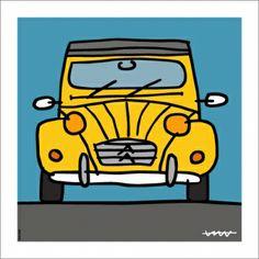 patito 2cv6, Funny Drawings, Geek Humor, Lisa Simpson, Funny Tshirts, Geek Stuff, Car Stuff, Fictional Characters, Ds