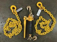LIFTING CHAIN GRADE 80 Tow Dolly Axle Strap 9//32