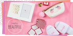Surprise her with thoughtful gifts from our Valentine's Day collection! Our top picks include feminine frames, romantic mugs and flirtatious wine glasses!