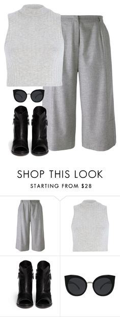 """Untitled #6337"" by heynathalie ❤ liked on Polyvore featuring Carin Wester, River Island, rag & bone and Quay"