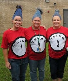 """Quick and Easy Directions to become a Group of """"Things"""" for Halloween ...  - http://halloweencostumesidea.info/quick-and-easy-directions-to-become-a-group-of-things-for-halloween/"""