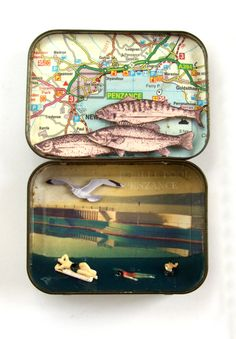 Enjoy a day at the Jubilee Pool - Penzance lido - vintage tin, during your holiday at www.wildeyedeer.co.uk