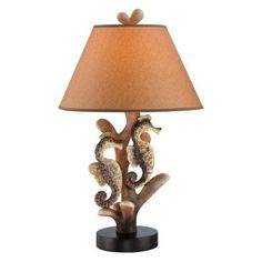 Lite Source Seahorse Table Lamp - LS-22416