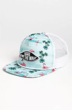 Vans 'Pink Flamingo' Trucker Hat