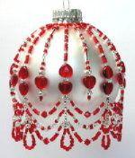 July Crystal Birthstone Ornament 2008 Pattern by Deb Moffett-Hall aka Patterns to Bead