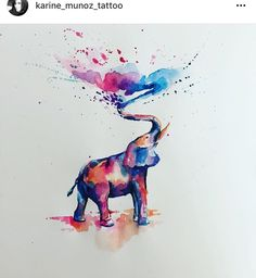 Love Design, Polar Bear, Elephants, Art Inspo, Watercolors, Sketching, Watercolor Art, Art Ideas, Moose Art