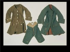 Welsh Wool Coats & Breeches 1750