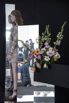 Blumarine Fall Winter 2015/2016 Advertising Campaign Backstage