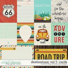 Destinations: Vol 7 - Cards by Studio Basic and Studio Flergs