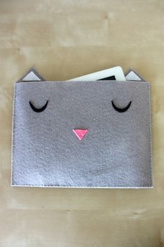 Cat Tablet Case Tutorial // see kate sew