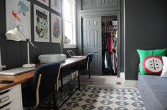Office / Second Bedroom: The final layer   Go Haus Go – A DIY and Design Blog by Emily May