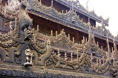 Shwenandaw Kyaung - Mandalay - Myanmar