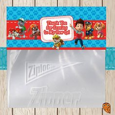 Paw patrol goodie bags | Birthday Ideas | Pinterest | Bags ...