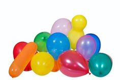 Blaas een ballon op en probeer deze zo lang mogelijk in de lucht te houden door hem telkens opnieuw omhoog te slaan.