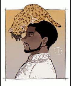 T'challa & Erik || Black Panther || Cr: 壳