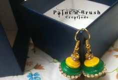 Paper Quilling Jhumka , Earring by TinkerOwl on Etsy