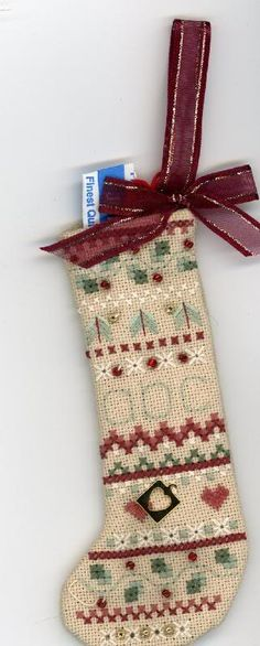Christmas ornament for an exchange