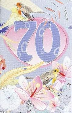 verjaardagskaart 70