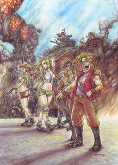 """Metal Slug"" by altmess.deviantart.com on @DeviantArt"