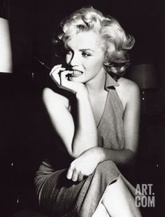 $14.99 Marilyn Monroe, Hollywood, c.1952 Art Print at Art.com
