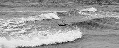 La extraordinaria expedición de un barco pirata de Playmobil navegando por el mar de Norte desde Escocia hasta Escandinavia.