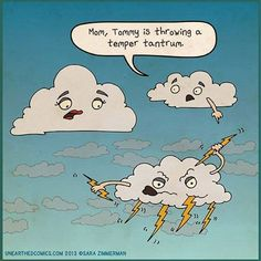 How to reframe your child's fear of thunder and lightening...