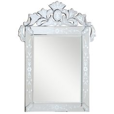 "Somette Venetian Square Clear Mirror - Overstock Shopping - Great Deals on Somette Mirrors - $228.99 (27.6""W x 35.8""L)"