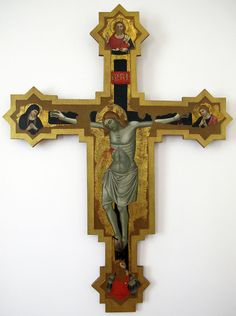 Scuola riminese - Crocifisso Spina - 1370 ca. - Museo della Città di Rimini