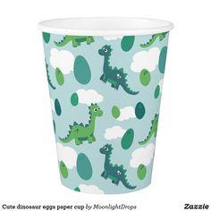 Cute dinosaur eggs paper cup