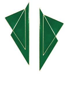Boucles d'oreilles triangle - ASOS