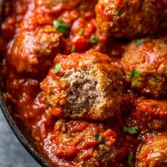 Meatballs Recipe Video, Easy Baked Meatballs, Baked Meatball Recipe, How To Cook Meatballs, Meatball Recipes, Meatballs 4, Tzatziki, Chowder Recipes, Seafood Recipes