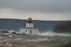 Lighthouse in Parrsboro N.S