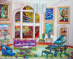 Fine Art Print from Original Oil Painting by kMadisonMooreFineArt